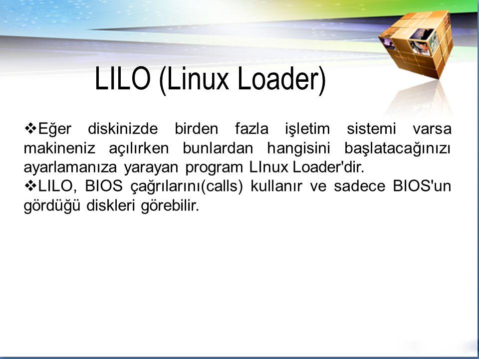 LILO (Linux Loader)