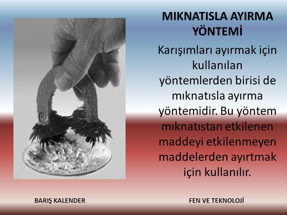 MIKNATISLA AYIRMA YÖNTEMİ