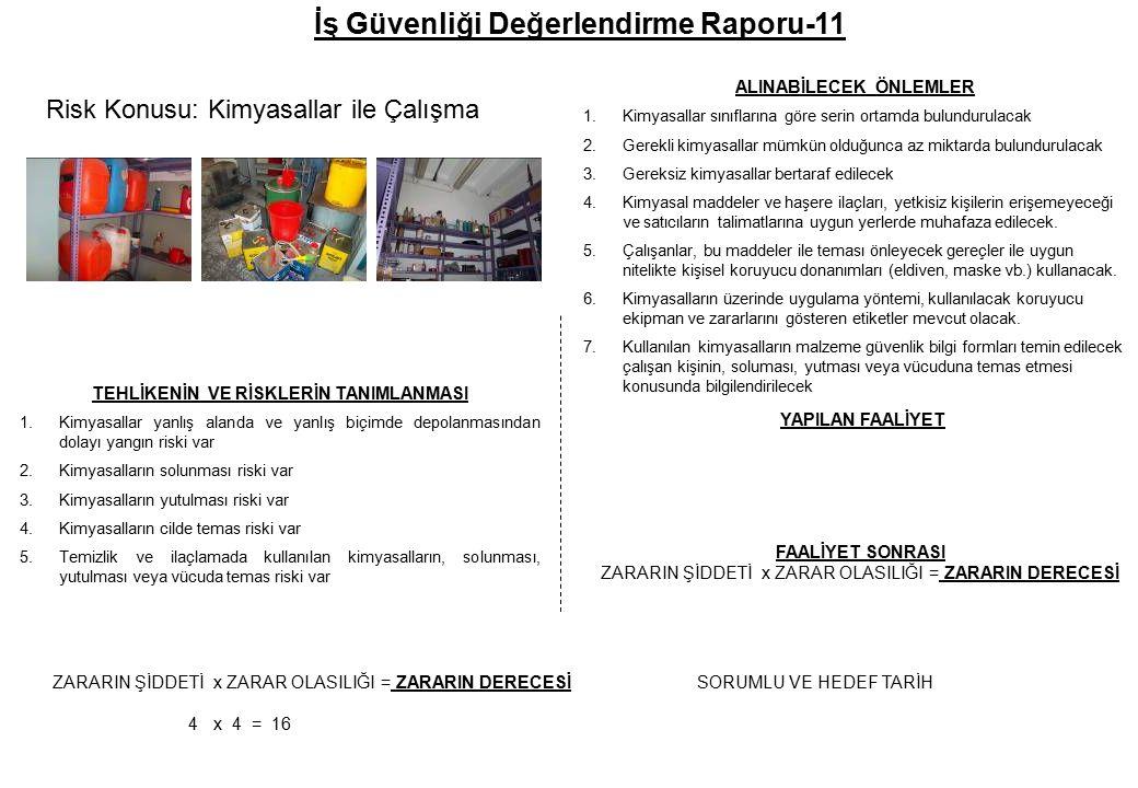 İş Güvenliği Değerlendirme Raporu-11