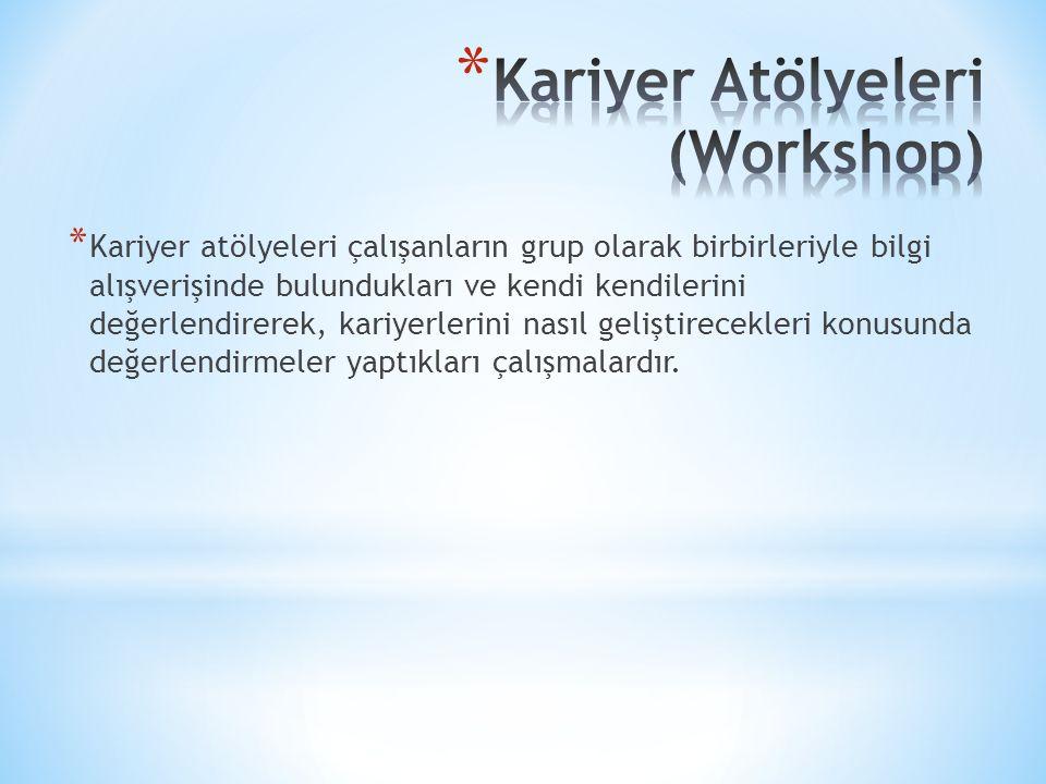 Kariyer Atölyeleri (Workshop)