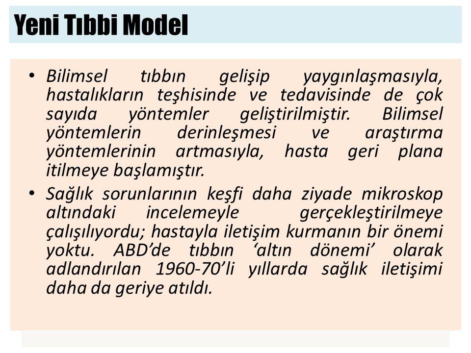 Yeni Tıbbi Model