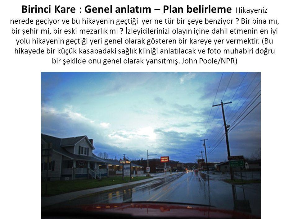 Birinci Kare : Genel anlatım – Plan belirleme Hikayeniz nerede geçiyor ve bu hikayenin geçtiği yer ne tür bir şeye benziyor .