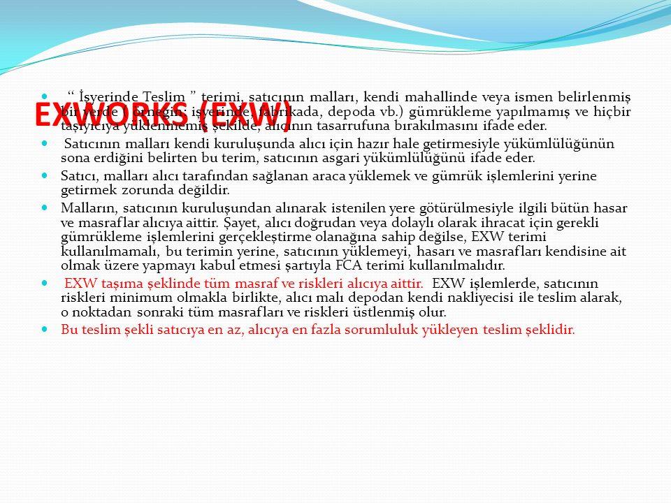 EXWORKS (EXW)