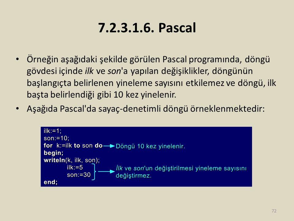 7.2.3.1.6. Pascal