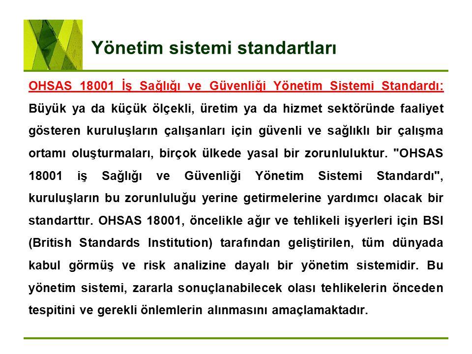 Yönetim sistemi standartları