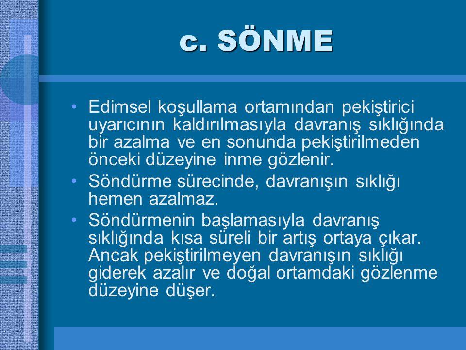 c. SÖNME