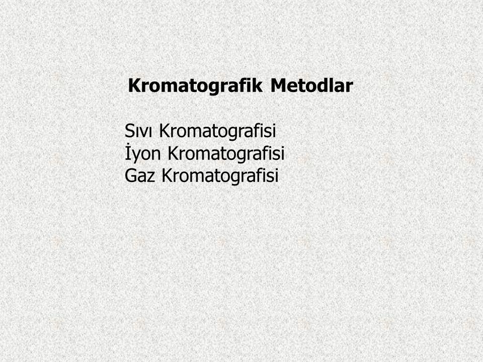 Kromatografik Metodlar