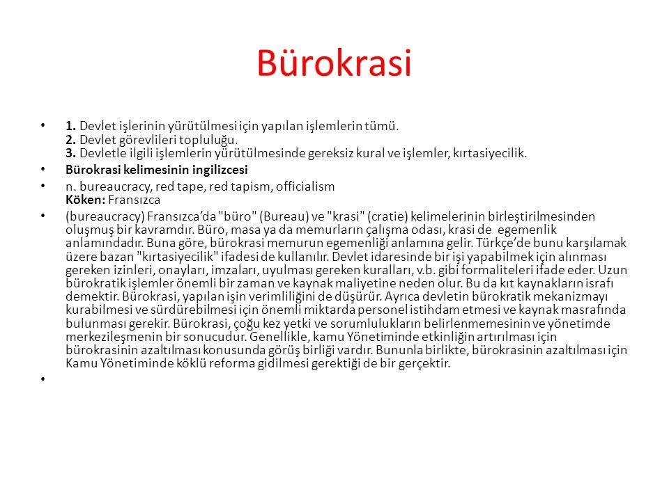 Bürokrasi