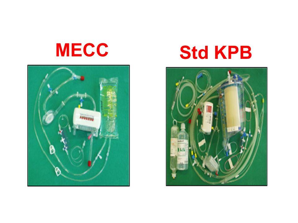 MECC Std KPB MECC ve Std KPB da kullanılan sarf malzemeler. MECC çok daha basit görünüyor.