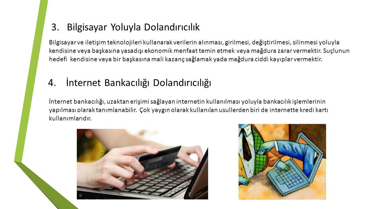 Bilgisayar Yoluyla Dolandırıcılık