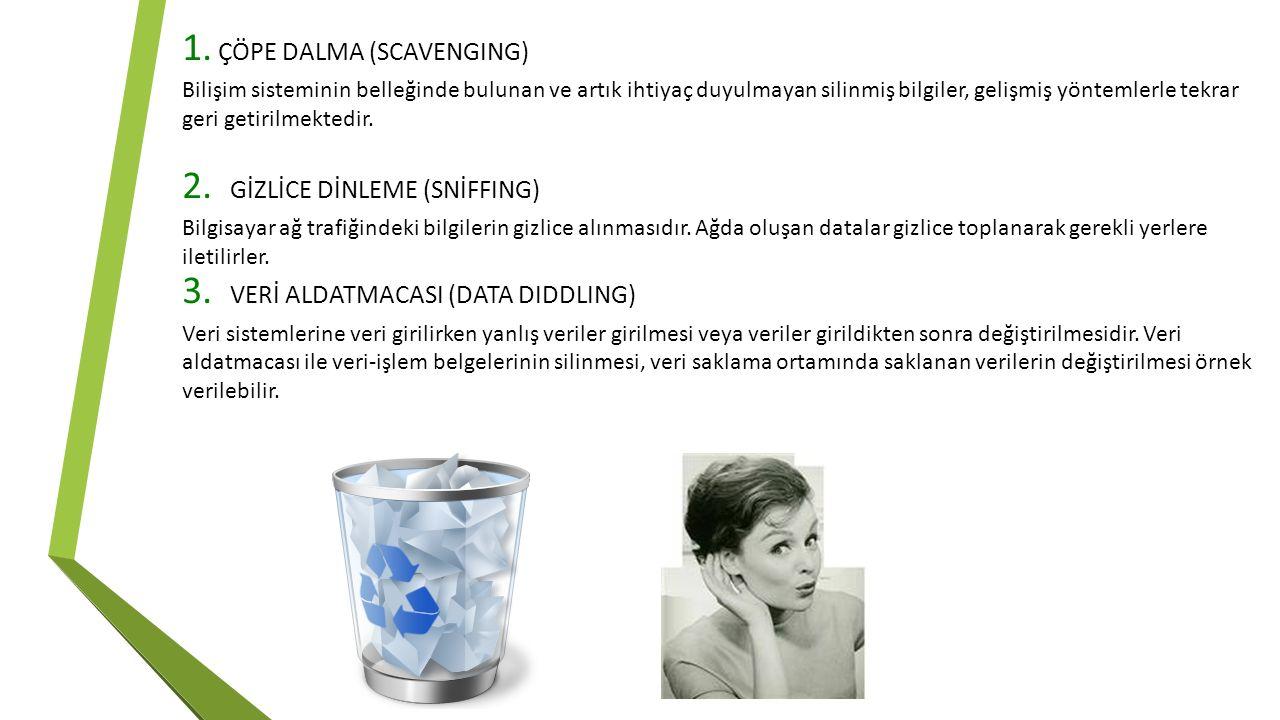 ÇÖPE DALMA (SCAVENGING)