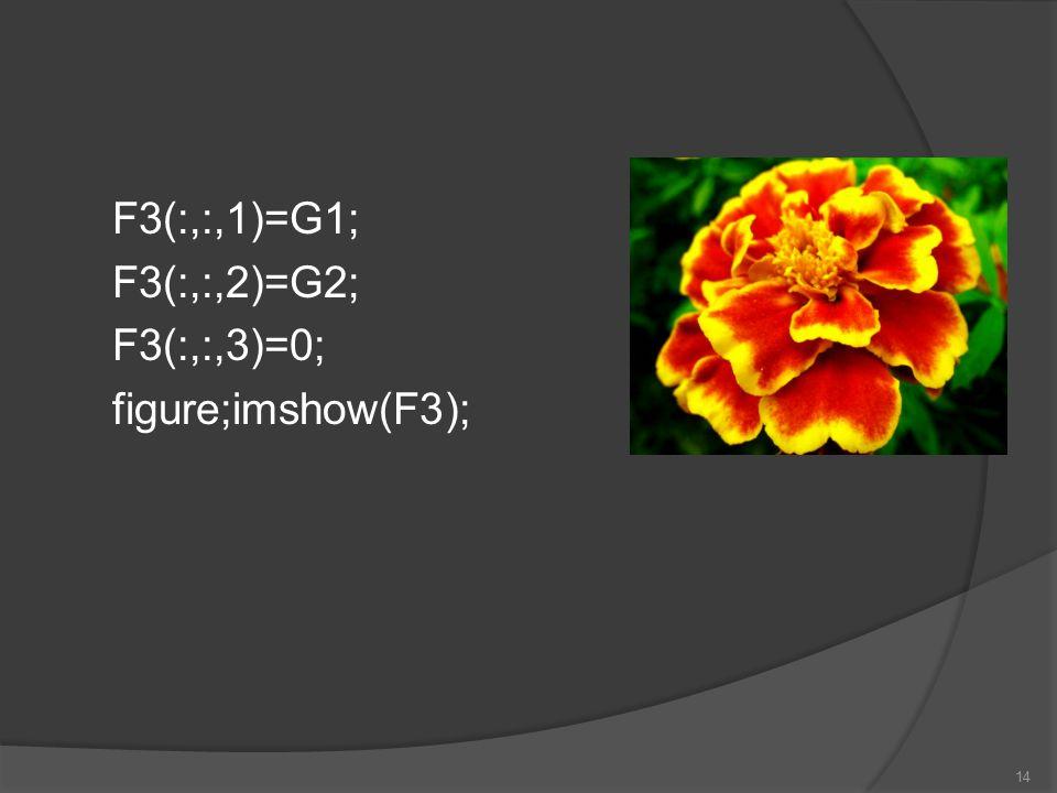 F3(:,:,1)=G1; F3(:,:,2)=G2; F3(:,:,3)=0; figure;imshow(F3);