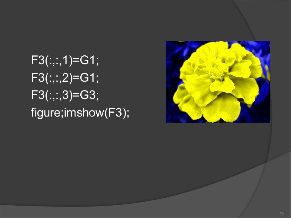 F3(:,:,1)=G1; F3(:,:,2)=G1; F3(:,:,3)=G3; figure;imshow(F3);