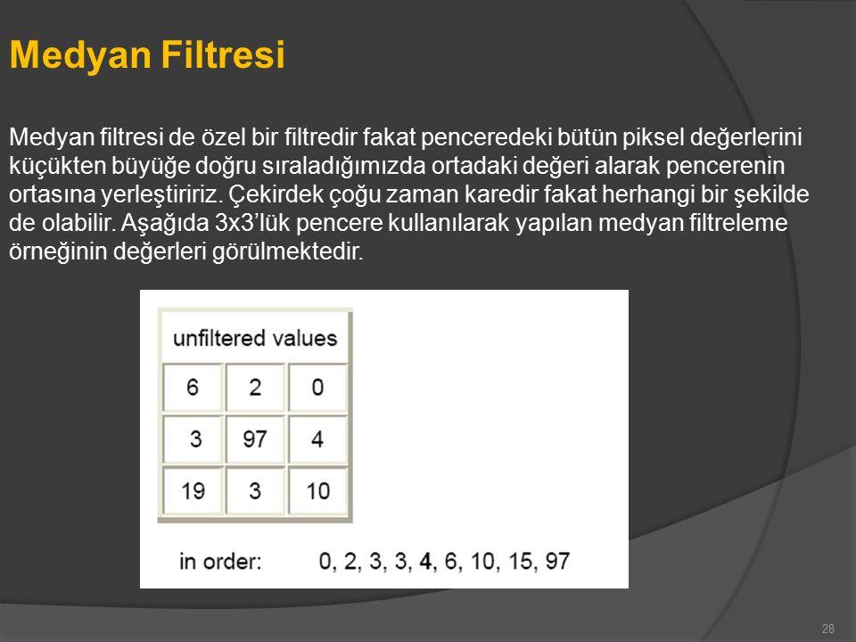 Medyan Filtresi
