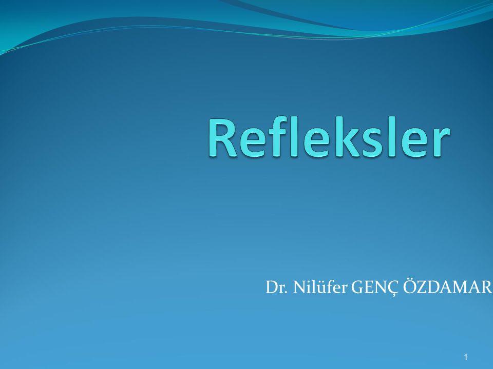 Dr. Nilüfer GENÇ ÖZDAMAR