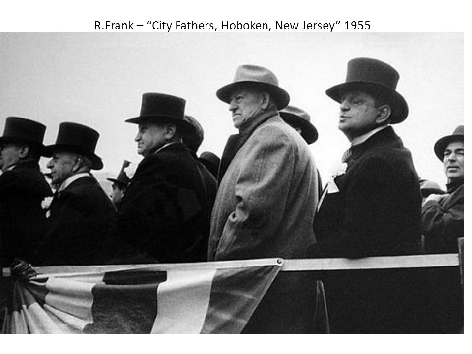 R.Frank – City Fathers, Hoboken, New Jersey 1955