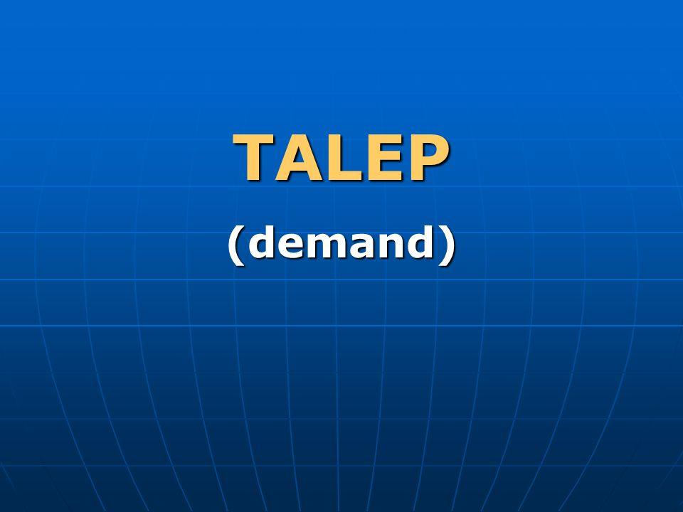 TALEP (demand)
