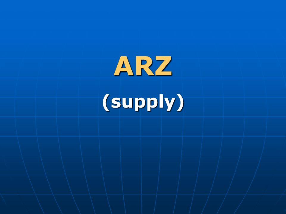 ARZ (supply)