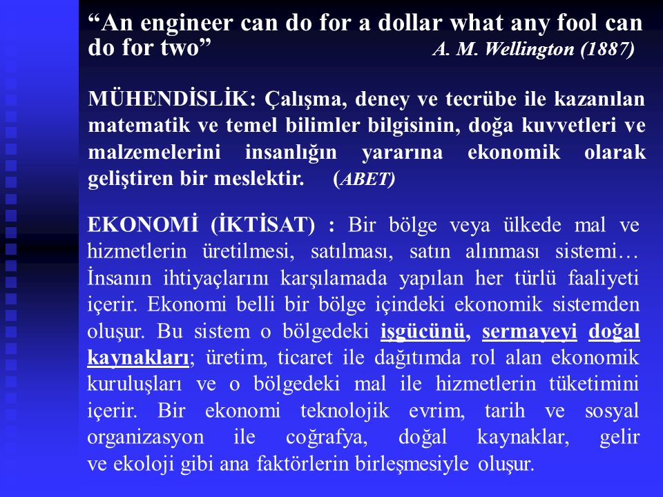 An engineer can do for a dollar what any fool can do for two . A. M