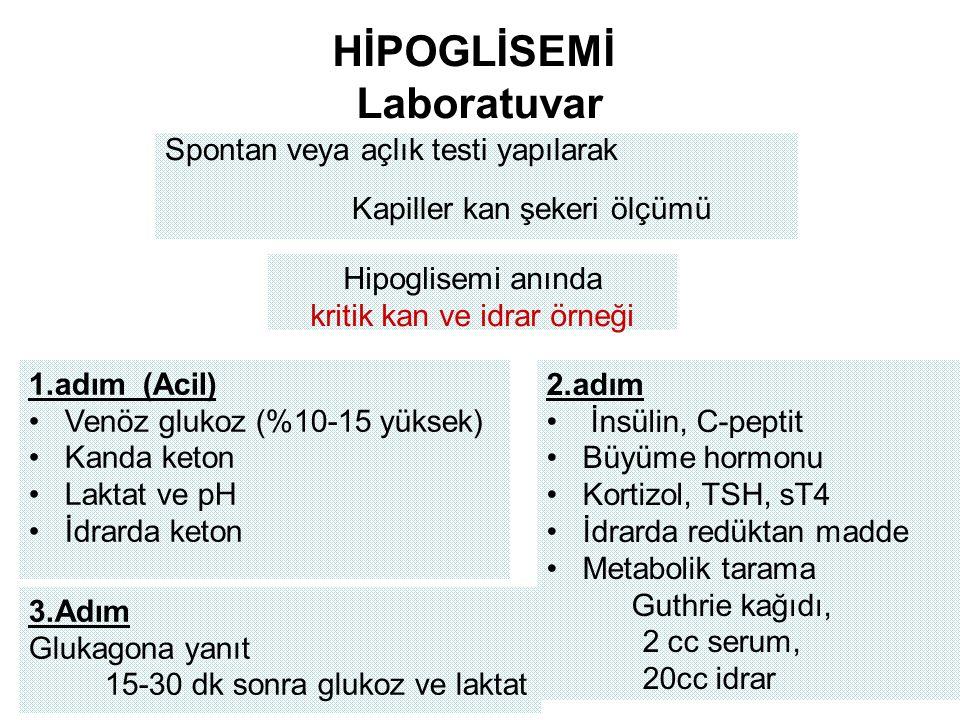 HİPOGLİSEMİ Laboratuvar