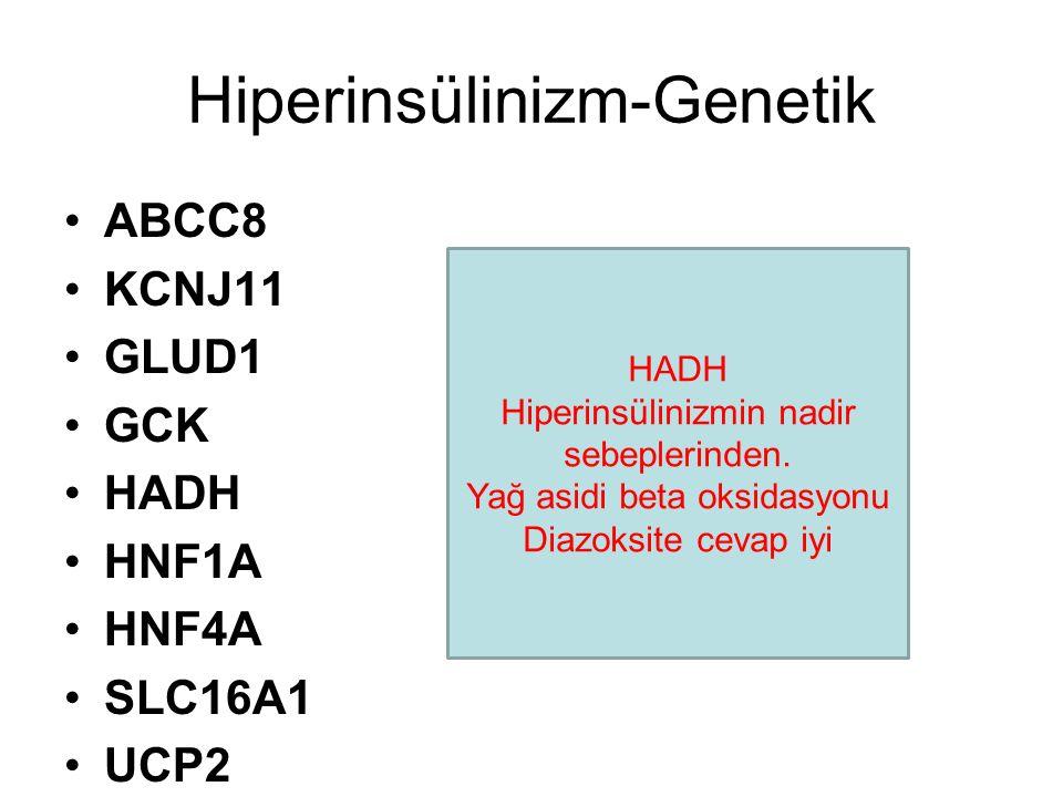 Hiperinsülinizm-Genetik