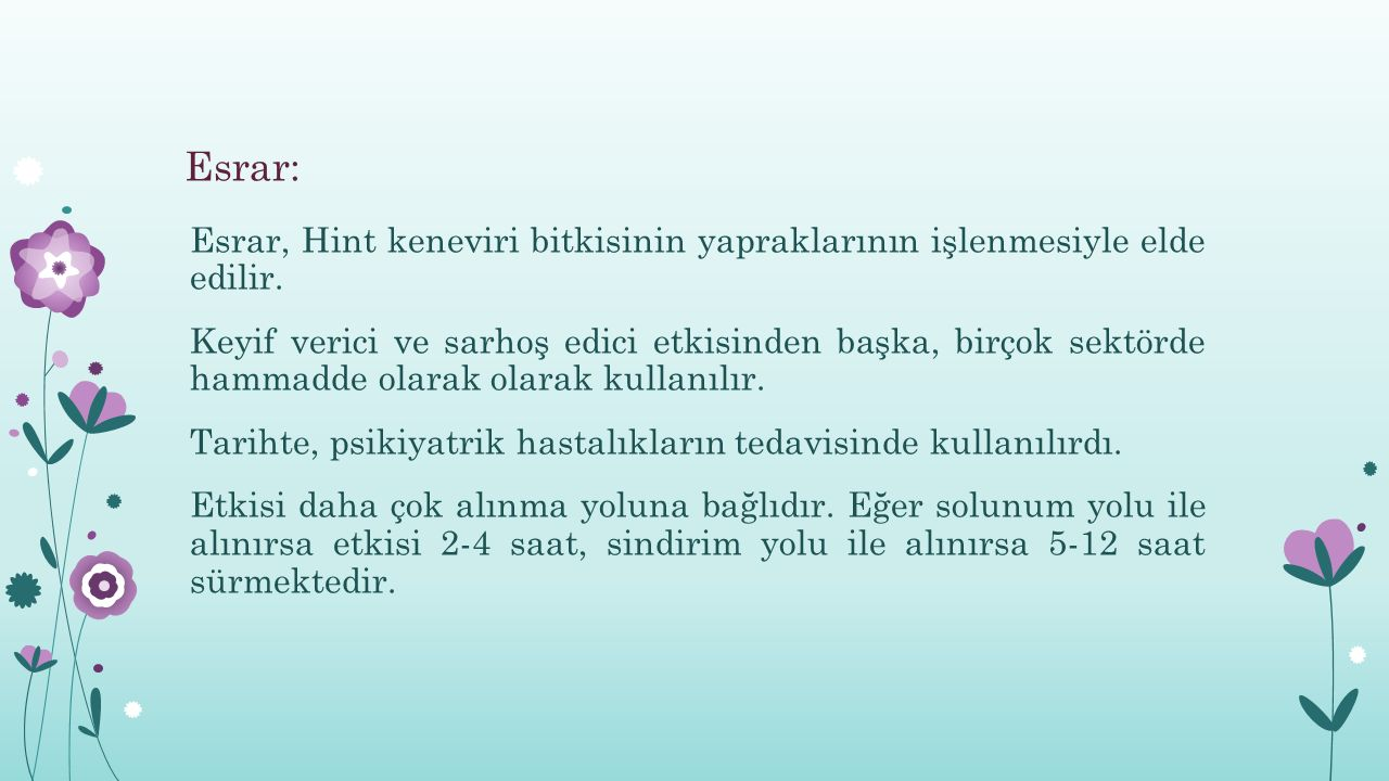 Esrar:
