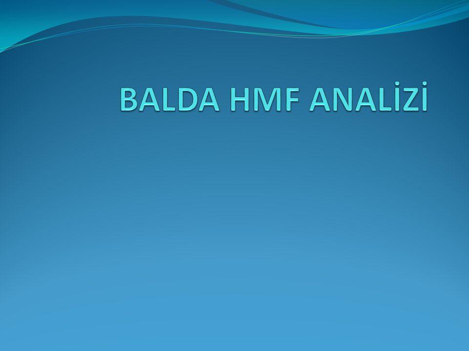 BALDA HMF ANALİZİ