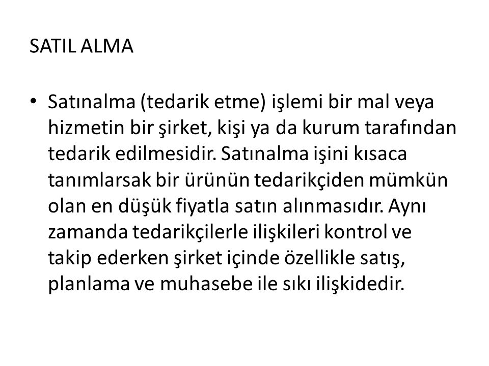 SATIL ALMA