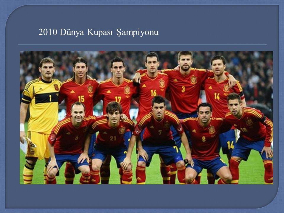 2010 Dünya Kupası Şampiyonu