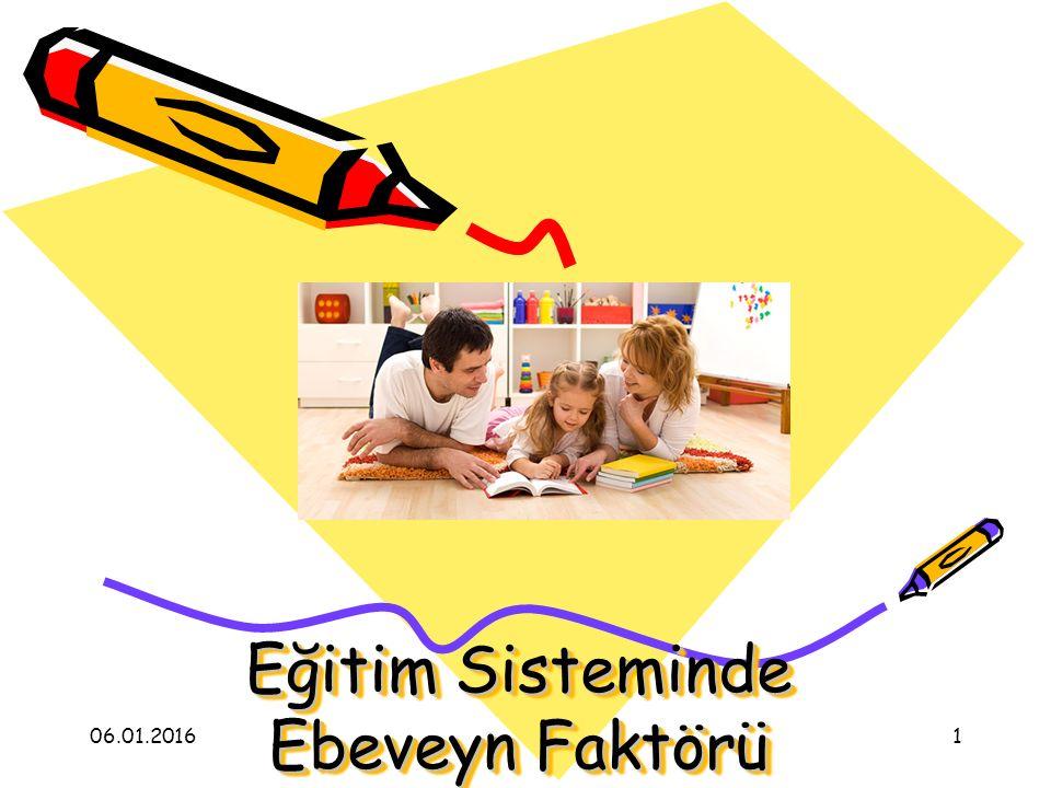 Eğitim Sisteminde Ebeveyn Faktörü