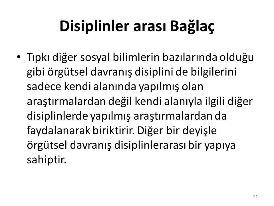 Disiplinler arası Bağlaç