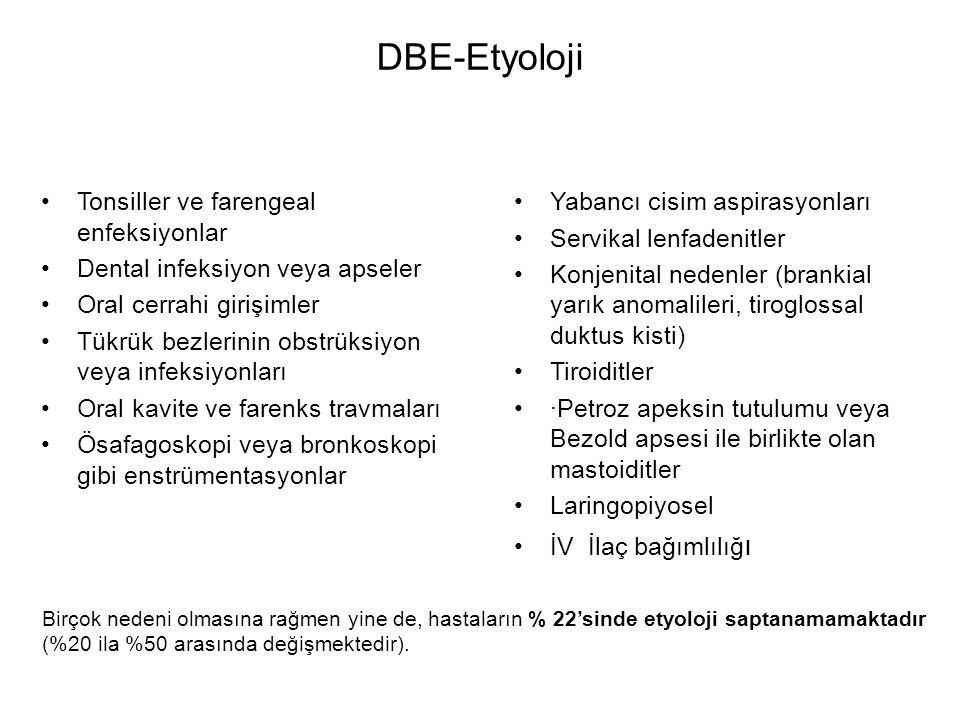 DBE-Etyoloji Tonsiller ve farengeal enfeksiyonlar