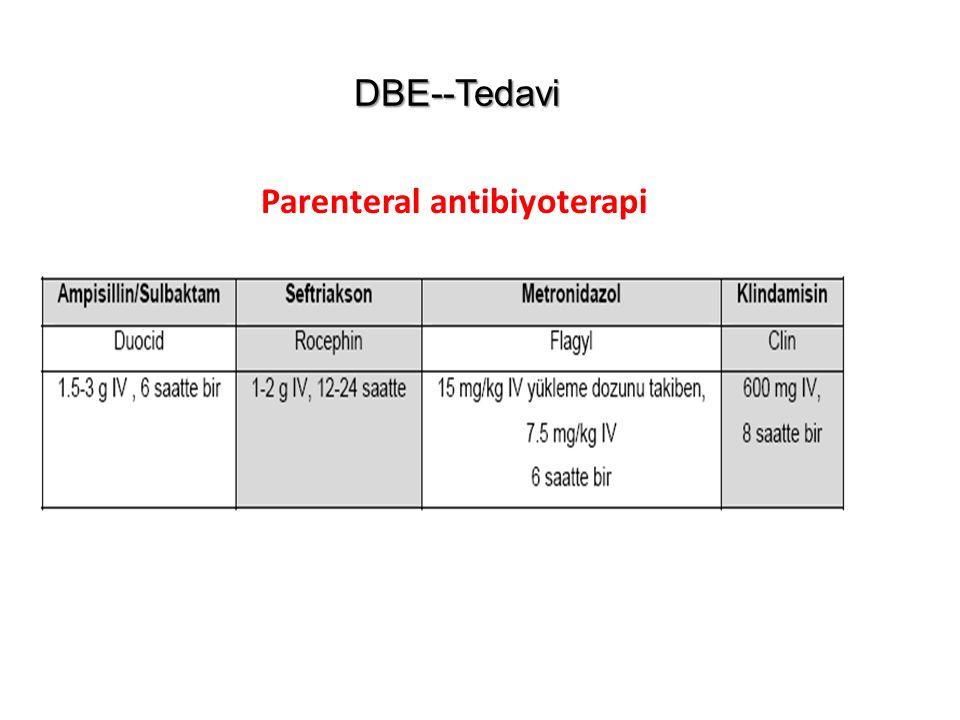 Parenteral antibiyoterapi