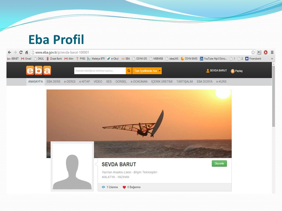 Eba Profil