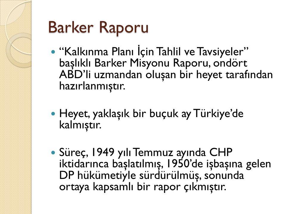 Barker Raporu