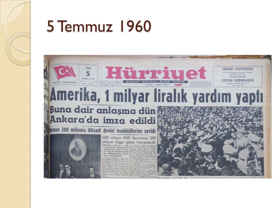 5 Temmuz 1960