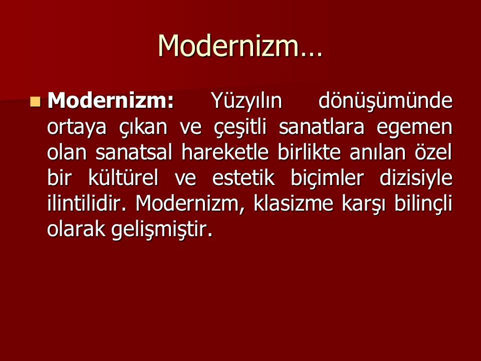 Modernizm…