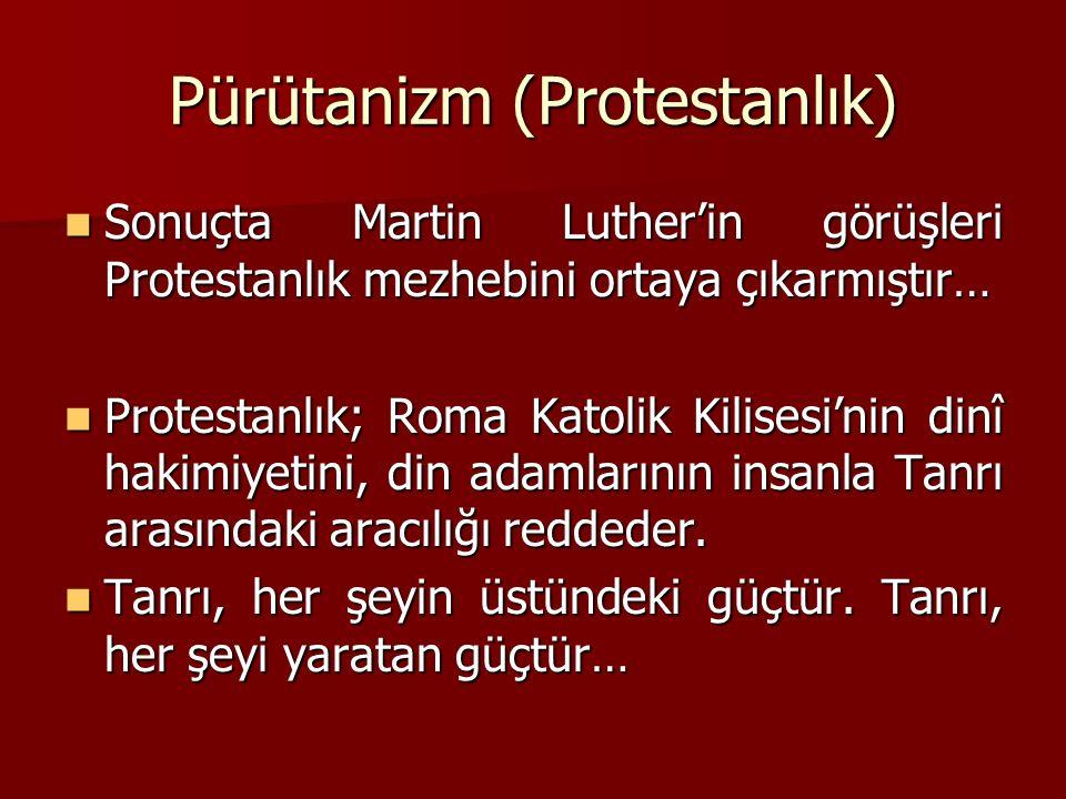 Pürütanizm (Protestanlık)