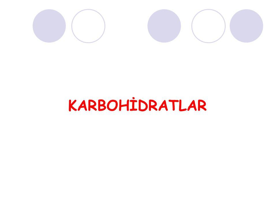 KARBOHİDRATLAR