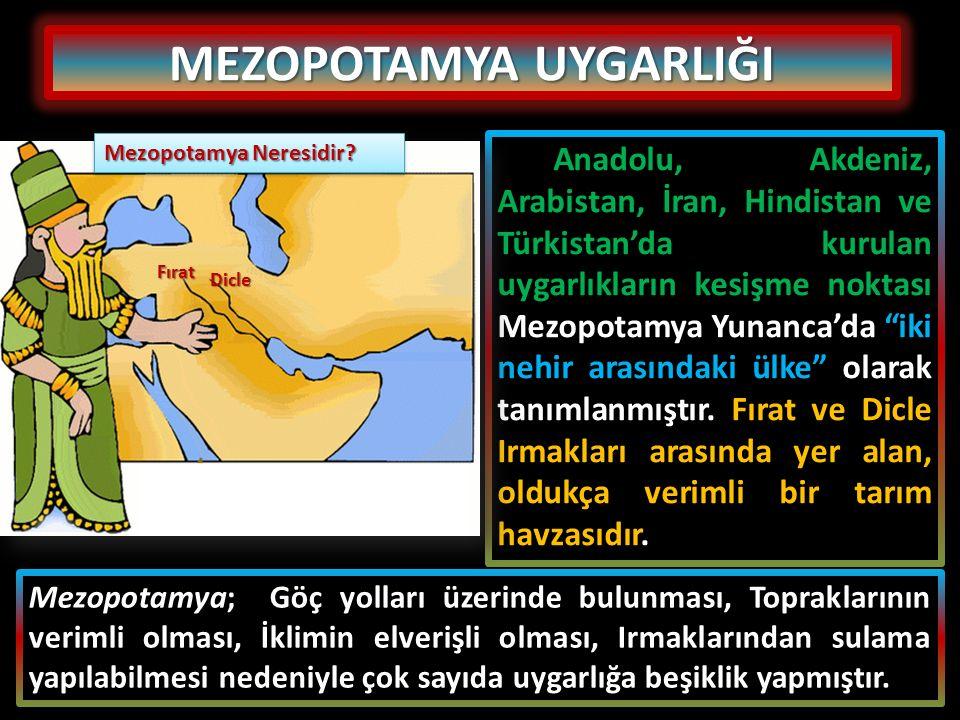 MEZOPOTAMYA UYGARLIĞI