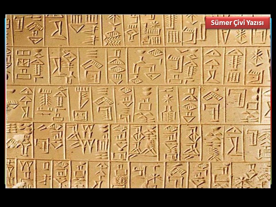Sümer Çivi Yazısı