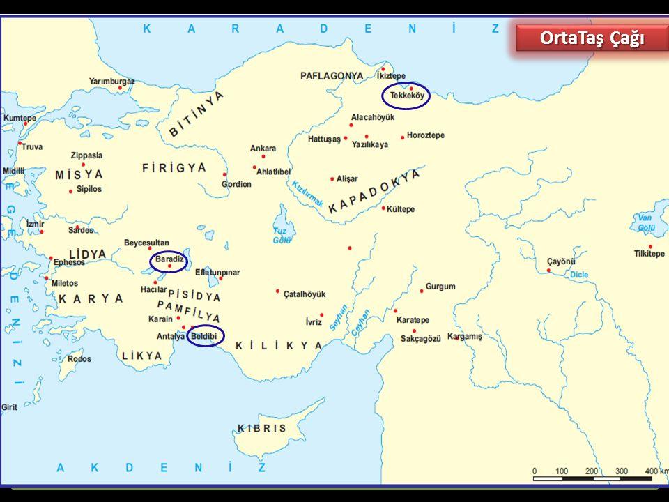 Orta Taş (Mezolotik-Yontmataş) Çağı (MÖ 10.000 - 8.000):