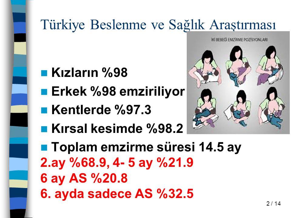 Türkiye Beslenme ve Sağlık Araştırması