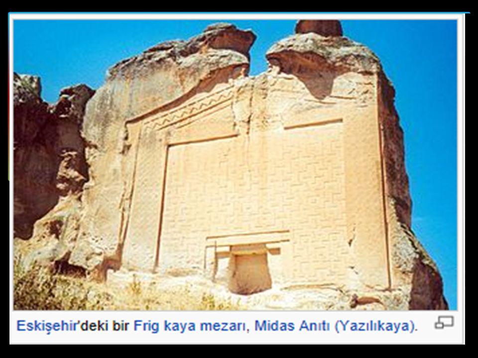 FRİGYALILAR (MÖ 800 - MÖ 676)