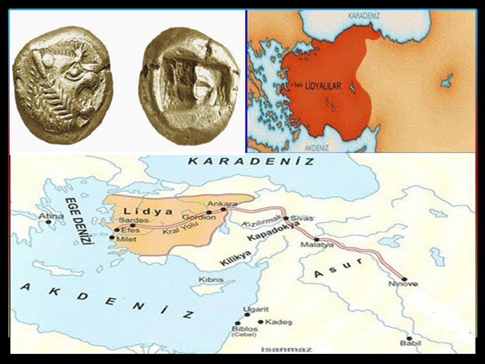 F. LİDYALILAR (MÖ 687 - MÖ 546)