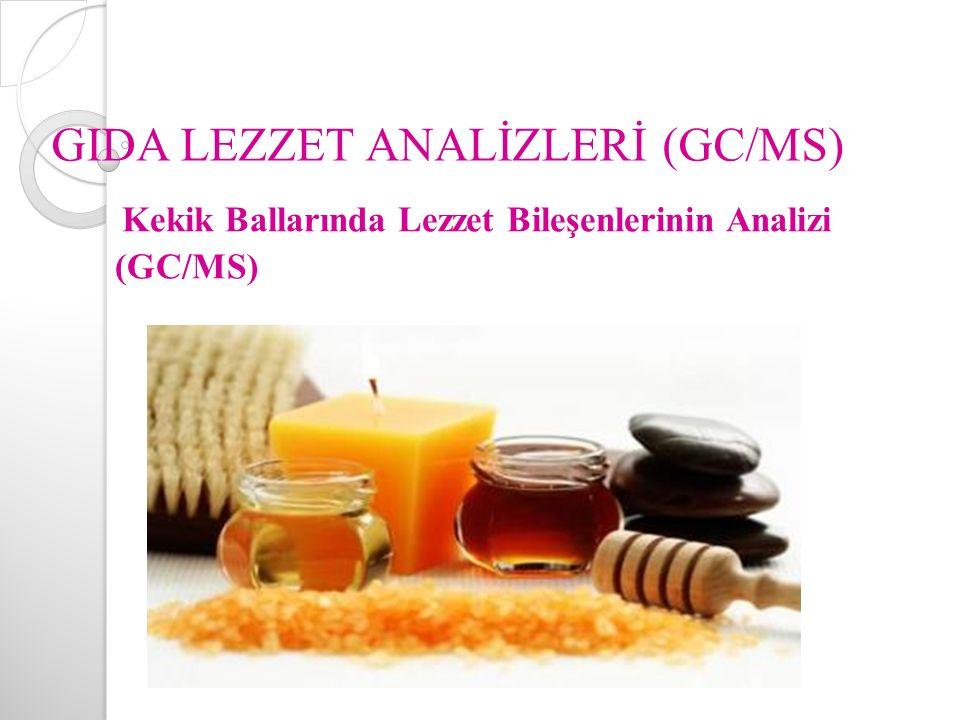 GIDA LEZZET ANALİZLERİ (GC/MS)