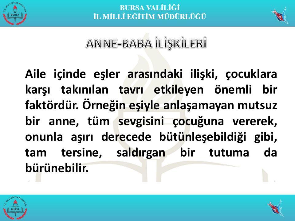 ANNE-BABA İLİŞKİLERİ