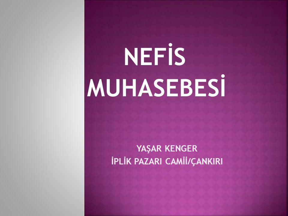 İPLİK PAZARI CAMİİ/ÇANKIRI