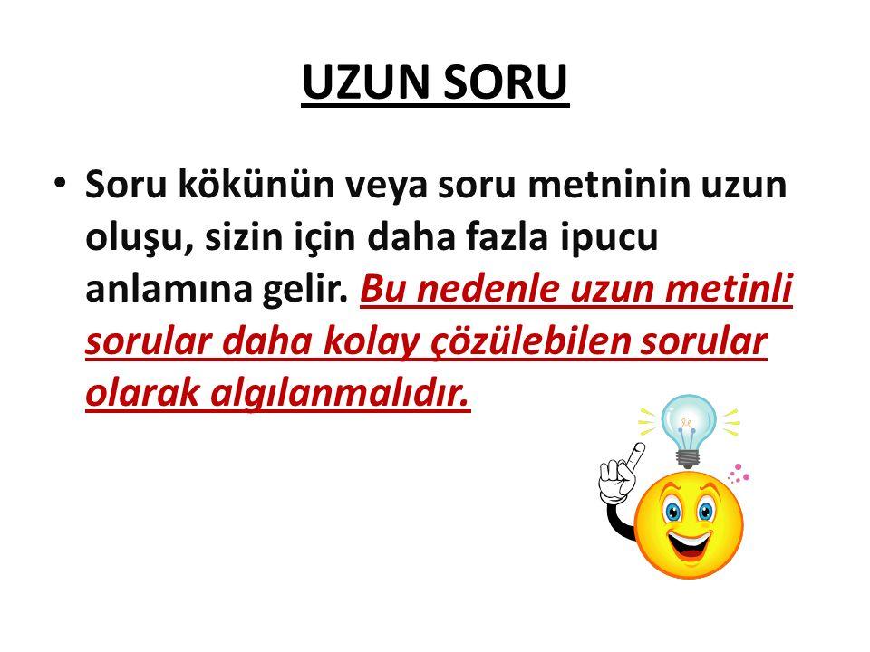 UZUN SORU