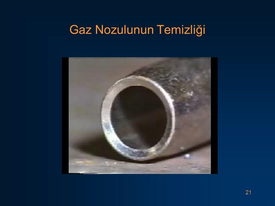 Gaz Nozulunun Temizliği